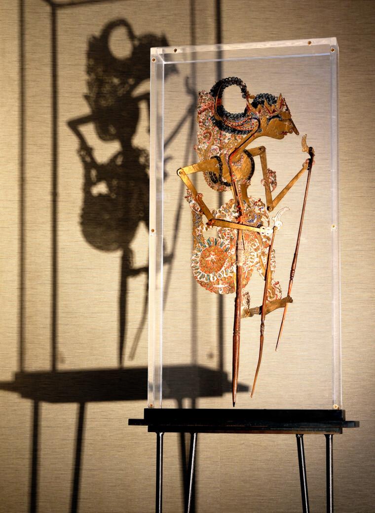 Schattenfigur aus Indonesien