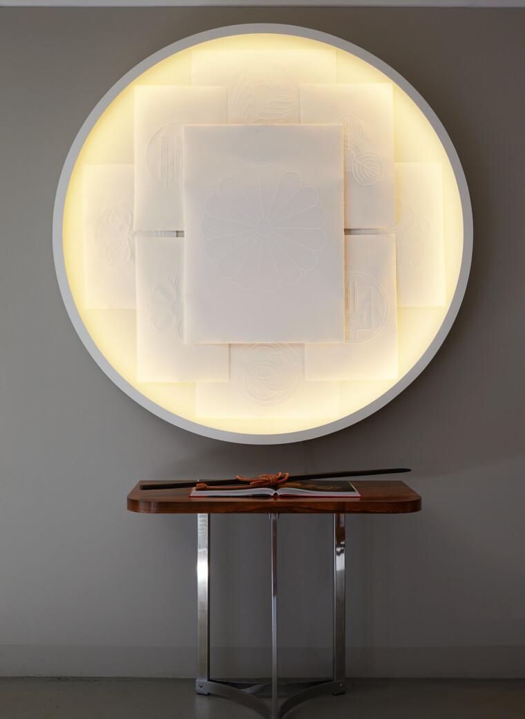 Entstehung des Kunstwerkes LIGHT of MONS von Fabian Gatermann in Zusammenarbeit mit Geroma Löw